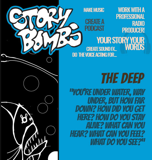 StoryBombs prompt - The Deep